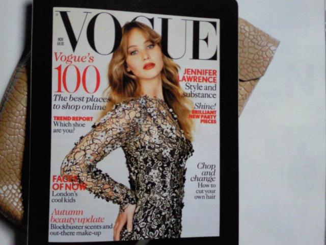 Vogue UK November 2012